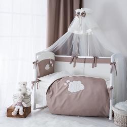 Постельное бельё в кроватку с балдахином Perina Бамбино