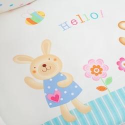 Постельное бельё для новорожденных Perina Глория. Hello. Комплект из 3 предметов
