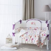 Постельное бельё в кроватку Perina Акварель.