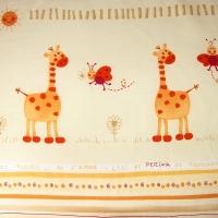 Постельное бельё в кроватку Кроха. Жирафики. Комплект из 3 предметов