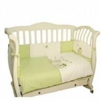 Комплект постельного белья в кроватку  Piccolino Big Dino 6 предметов