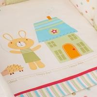 Постельное бельё для новорожденных Perina Глория. Happy Days. Комплект из 3 предметов
