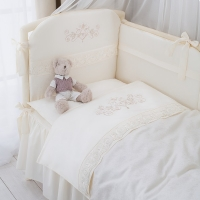 Постель в кроватку Perina Версаль. Комплект из 6 или 4 предметов.