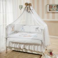 Постельное бельё в кроватку  Венеция. Три Друга. Комплект из 7 предметов