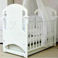 Кроватка Соня ЛД 8 со стразами