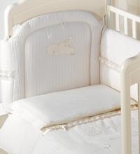 Комплект постельного белья Italbaby Plisse (5 элементов) Бежевый
