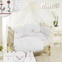 Комплект Feretti Sestetto Long Vintage Flower White
