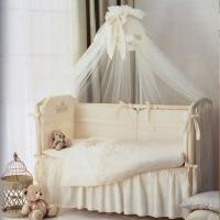 Постель в кроватку Perina Версаль с балдахином.
