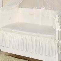 Постельное бельё в кроватку Perina Амели. Комплект из 6 или 4 предметов.