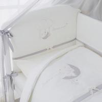 Постельное бельё для новорожденных Bonne nuit. Комплект из 6 или 4 предметов.