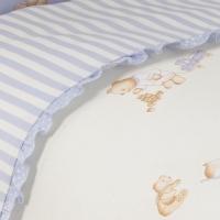 Комплект постельного белья в кроватку Тиффани. Неженка.  Комплект из 3 предметов