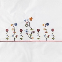 Комплект Feretti Sestetto Long Vintage Flower White